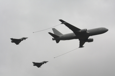 Boeing KC-767A & Eurofighter Typhoons F-2000A & FGR.4