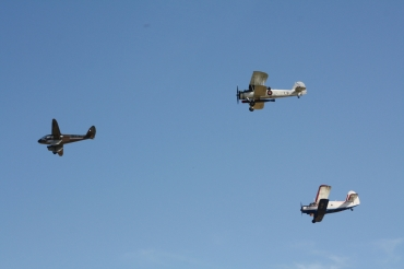 De Havilland DH.89A Dragon Rapide, Fairey Swordfish Mk. II & Antonov An-2TP 'Colt'