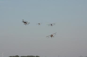 Nieuport 17, Fokker Dr.1, RAF R.E.8 & Albatros D.VA Replicas