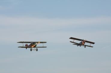 Albatros D.VA & Nieuport 17 Replicas