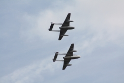 De Havilland DH.115 Vampire T.55 & De Havilland DH.100 Vampire FB.52