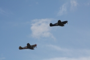 Curtiss P-40B Tomahawk IIA & Curtiss P-40F Kittyhawk Mk. II
