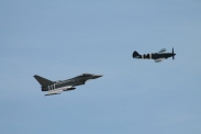 Supermarine Spitfire PR. XIX & Eurofighter Typhoon FGR.4