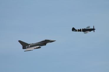 Supermarine Spitfire PR. XIX & Eurofighter Typhoon FGR.4