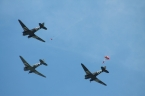 Douglas C-47A Skytrains & The Red Devils Parachute Display Team