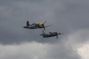 Goodyear FG-1D Corsair & Grumman F8F-2P Bearcat
