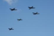 "Supermarine Spitfire Mk. IXT, North American TF-51D Mustangs ""Dream Girl"" & ""Miss Velma"", Yakovlev Yak 3M & Yakovlev Yak 9UM"