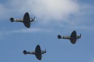 Supermarine Spitfires LF. IXB, LF. XVIE & HF. VIIIC