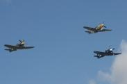 "North American P-51D Mustang ""Ferocious Frankie"", Hawker Sea Fury FB.11 & Hawker Sea Fury T.20"