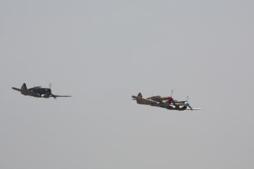 Curtiss P-40F Kittyhawk Mk. II, Curtiss Hawk 75A-1 & Curtiss P-40N Warhawk Mk. IV