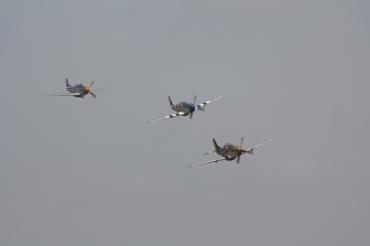 """North American P-51 Mustangs """"Miss Velma"""", """"Princess Elizabeth"""" & """"Nooky Booky IV"""""""