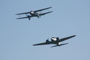 De Havilland DH.89A Dragon Rapide & Avro Anson T.21