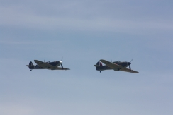 Hawker Sea Hurricane Mk. X & Supermarine Spitfire Mk. IA