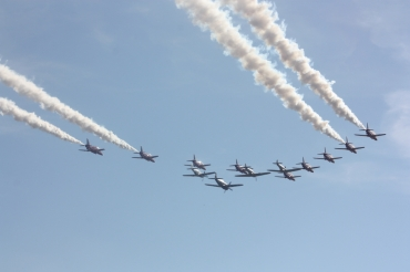 The Red Arrows & The Eagle Squadron