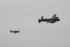 Avro Lancaster B.I & Hawker Hurricane Mk. IIC