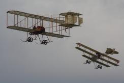 Bristol Boxkite & Roe IV Triplane (Replicas)