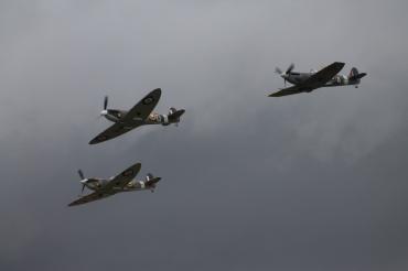 Supermarine Spitfires Mk. IA & LF. VBs