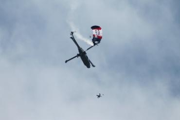 The Black Cats & The Raiders Parachute Display Team