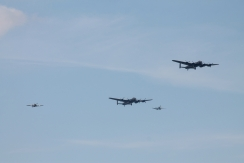 Avro Lancaster B.I, Avro Lancaster B.X, Hawker Hurricane Mk. IIC & Supermarine Spitfire PR. XIX