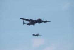 Avro Lancaster B.X & Supermarine Spitfire PR. XIX