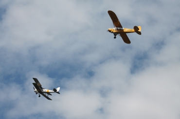 De Havilland DH.82A Tiger Moth II & Piper L-18C Super Cub