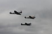 Hispano HA-1112-M1L Buchon & Supermarine Spitfires LF. XVIE & FR. XVIIIE