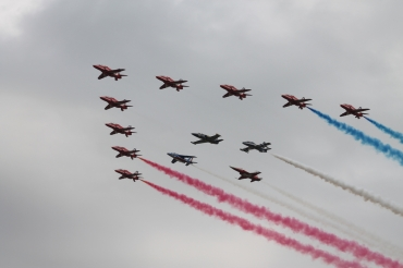The Red Arrows & Team Leaders