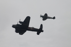 Avro Lancaster B.I & Supermarine Spitfire LF. IXE
