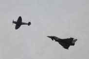 Supermarine Spitfire LF. IXE & Eurofighter Typhoon FGR.4