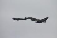 Supermarine Spitfire LF. XVIE & Eurofighter Typhoon FGR.4