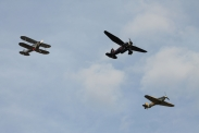 Westland Lysander Mk. IIIA, Hawker Sea Hurricane Mk. IB & Gloster Gladiator Mk. I