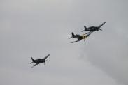 Goodyear FG-1D Corsair, Grumman F6F-3 Hellcat & Grumman F8F-2P Bearcat