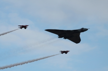 Avro Vulcan B.2 & The Gnat Display Team