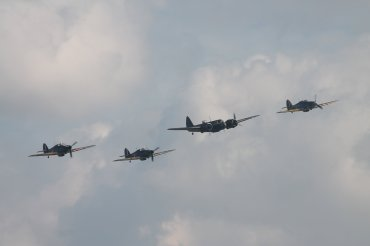 Bristol Blenheim Mk. I, Hawker Hurricanes Mk. I & Mk. XIIA & Sea Hurricane Mk. IB
