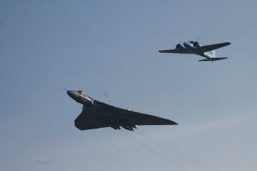 Avro Vulcan B.2 & Avro Anson XIX