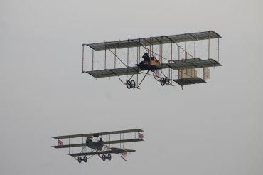 Bristol Boxkite & Roe IV Triplane Replicas