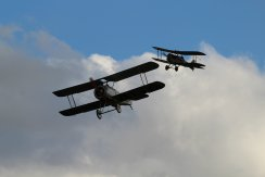 Sopwith Dove Replica & RAF S.E.5A