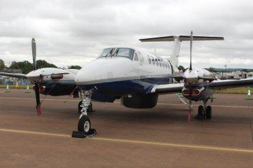 Beechcraft B350CER Avenger T.1