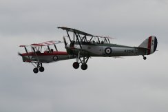 De Havilland DH.82A Tiger Moth IIs & Avro Tutor