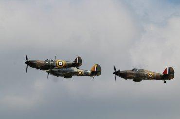Supermarine Spitfire Mk. IA, Hawker Hurricane Mk. I & Hawker Sea Hurricane Mk. IB