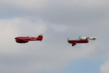 "De Havilland DH.88 Comet ""Grosvenor House"" & Percival E.2H Mew Gulls"