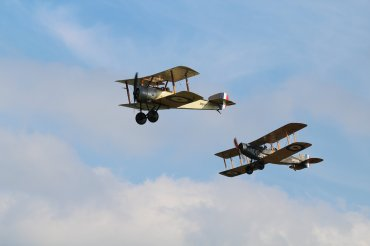 Sopwith Pup & Bristol F.2B Fighter