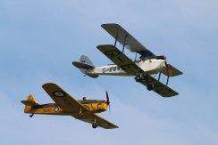 De Havilland DH.60X Hermes Moth & Miles M.14A Magister I